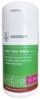 Medisept Velox® Duo Wipes - Alcoholic wipes for cleaning and rapid disinfection of small surfaces and medical equipment, container + cartridge 100 pcs